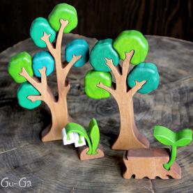 пазлы ландыш в лесу