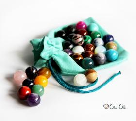 шарики из самоцветов