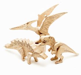 магнитный конструктор динозавры