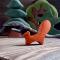 Деревянная игрушка Белка